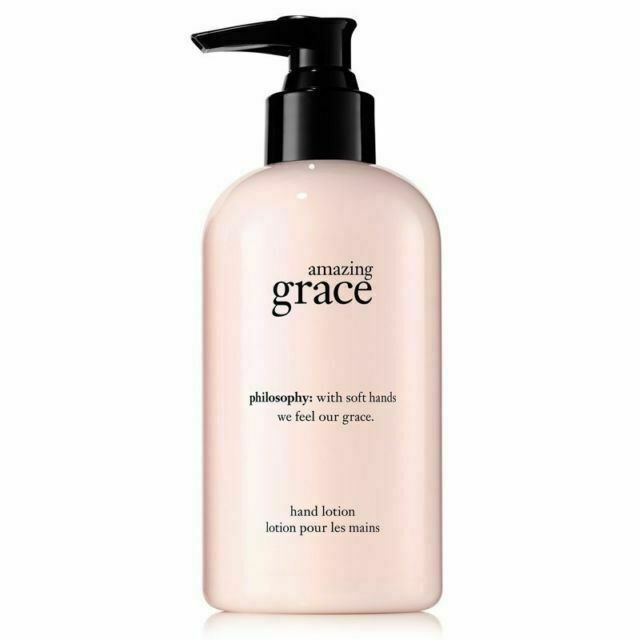 PHILOSOPHY Amazing GRACE Perfume Hand Body Lotion Pump Soften 8oz 240ml NeW