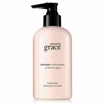 PHILOSOPHY Amazing GRACE Perfume Hand Body Lotion Pump Soften 8oz 240ml NeW - $37.13