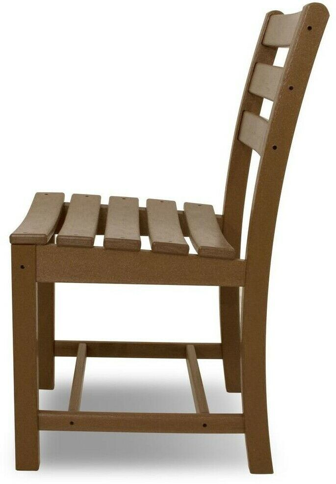 Patio Dining Side Chair 300 lb. Weight Capacity Weather ...