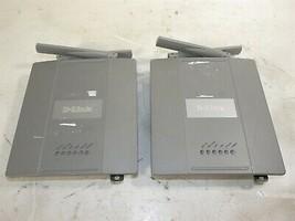 Lot of 2 D-Link DWL-8200AP 802.11a/b/g PoE Wireless Access Points - $24.06
