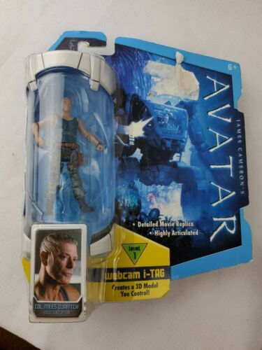 Primary image for Mattel James Cameron Avatar Col Miles Quaritch Action Figure