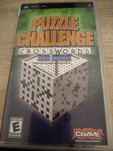 Sony PSP Puzzle Challenge Crosswords And More! image 1