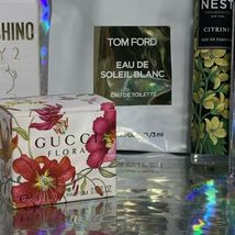 NEW IN BOXES Mini Fragrance / Perfume Lot Tom Ford Gucci Lancome Nest Citrine ! image 8