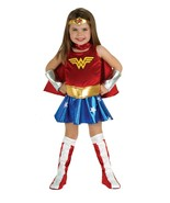 Toddler Girl 2T-4T /NWT Officially Licensed Wonder Woman Costume by Rubies™ - $41.73 CAD