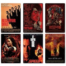 Classic Cultic Movie Metal Poster Vintage Film Tin Sign Retro Plaque Wal... - $17.73