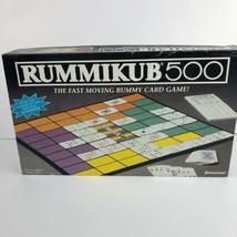 Rummikub 500 Pressman 1992 Board Game Rummy Card Game  - $9.89