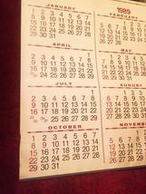 1989 Duluth Missabe & Iron Range Railways Train Wall Calendar image 2