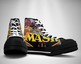 M.A.S.K. 80's cartoon Canvas Sneakers Shoes - $29.99