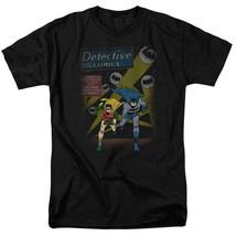 Batman and Robin T-shirt DC Comics retro superhero graphic tee BM1845 image 1