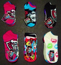 MONSTER HIGH No Show or Knee High Mutli-Pack Socks Kids/Youth/Ladies Age... - $11.32