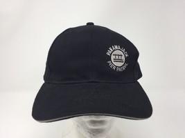 Panama JACK Pier Patrol LOGO BASEBALL CAP HAT black - $7.70