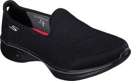 Skechers GOwalk 4 Pursuit Slip On Walking Shoes (Women's) $65 in Black -... - €48,43 EUR