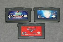 Nintendo Game Boy Advance: 3 Game Lot - E.T. + Spongebob + Disney Cars - $10.00