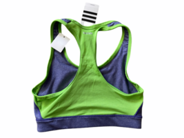 adidas Climacool Women Crop Top Gym Training Workout Racerback Bra SMALL image 2