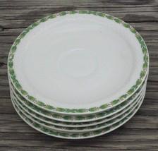 Decore Par LIMOGES FRANCE T.V. WH PLUMMER NY SAUCER Plate Dish Lot of 5 ... - $14.24