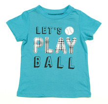 First Impressions New Infant Boys Play Ball Applique Blue T Shirt Tee 18 M - $8.90