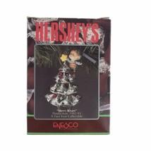 Enesco 1992 Hershey's Merry Kisses Christmas Holiday Ornament Kiss Xmas ... - $32.58