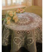 4X Butterfly Table Skirt Mat Pillows Dogwood Pillow Filet Crochet Patterns - $9.99
