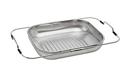Stopia Adjustable Over Sink Dish Drying Rack Stainless Steel , mesh net strainer