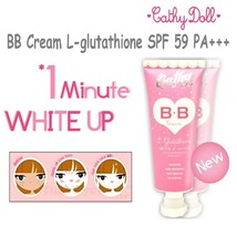 Cathy Doll Whitening BB Cream L- Glutathione Sunscreen UVA/UVB SPF59 PA+... - $65.44