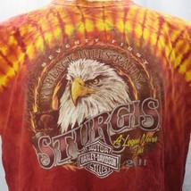 Harley Davidson Tie Dye 71st Black Hills Rally Sturgis 2011 XL T-Shirt B... - $26.72