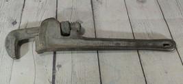 Ridgid 14 Inch Pipe Wrench Ridge Tool Co. Elyria Ohio Usa Trade Mark Vintage - $17.81