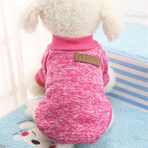 Stripe dog vest Summer casual green & red pet clothe t shirt for walking - $15.00