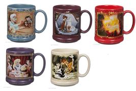 Disney Store Classic Mug Alice Tinker Bell Marie Pinocchio Bambi 2015 New - $65.96