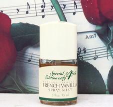 Dana French Vanilla Spray Mist 0.5 FL. OZ. NWOB - $19.99