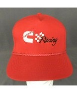 Cummins Racing Snapback Hat Red Rope Cap Diesel - $17.37