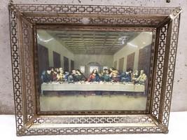 "Framed Last Supper Print 21"" by 17"" Frame - $93.75"