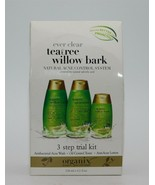 Organix Ever Clear Natural Acne Control System, Teatree Willow Bark 3 St... - $14.24