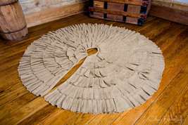 Deluxe Burlap Natural Tan Tree Skirt - $32.00
