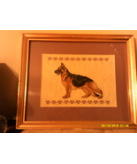 German Shepherd Cross Stitch - $20.00