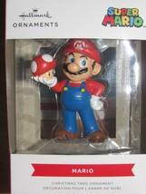 Hallmark Nintendo Super Mario Bros Pilz Weihnachtsbaum Ornament Neu - $15.71