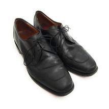 Allen Edmonds Men`s Size 11.5 Burton Apron Toe Derby Black Leather Oxfords - $44.55