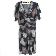 BCBG Max Azria Black Stretchy Ruched Waist Casual/Work wear Womens Size ... - $25.43