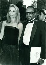 PEGGY LIPTON QUINCY JONES ACADEMY AWARDS 1986 ORIG CANDID PHOTO 9A-145 - $14.84