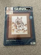 Sunset Spirit of Illusion Counted Cross Stitch Kit 13679 owl NIP - $21.77
