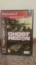 Tom Clancy's Ghost Recon Greatest Hits (Sony PlayStation 2, 2004) - $8.11