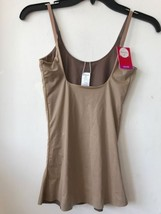 New Spanx Reversible Open Bust Cami Taupe / Naked SZ S $52 - $43.60