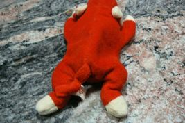 "Vintage Ty Beanie Babies Snort "" The Bull "" Hang Tag/Tush Tag 1995 PVC Pellets image 3"