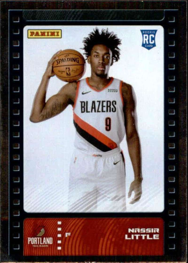 Primary image for 2019-20 Panini NBA Sticker Box Standard Size Silver Foil Insert #97 Nassir Littl