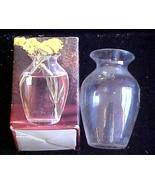 Tuscania  Lead Crystal Vase (Italy) - $9.00