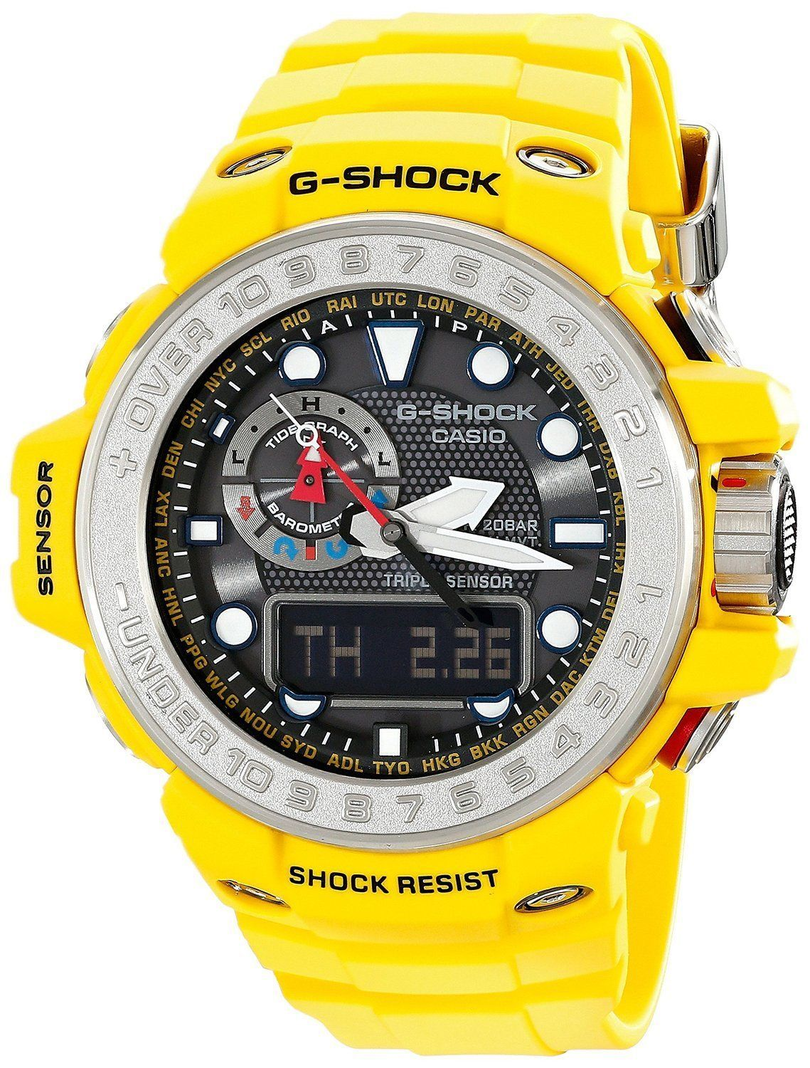 Primary image for Casio Mens G SHOCK GULFMASTER Analog-Digital Sport Solar Watch GWN-1000-9A