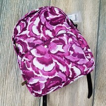 New TOMMY BAHAMA water resistant purple pink floral print backpack (JH89) - €54,62 EUR
