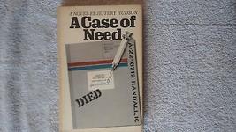 A Case Of Need par Jeffery Hudson Couverture Rigide avec Dust Pochette L... - $14.55