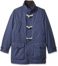 $298 Nautica Men's Weather-Resistant Hooded Toggle Coat, Mood Indigo, 2XL - $138.59