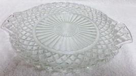 "2 Waterford Handled Tray 10 1/8"" Cake Plates Depression Glass Hocking Wa... - $24.99"