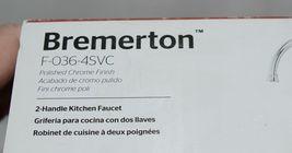 pfister Bremerton F0364SVC 36 Series 2 Handle Polish Chrome Kitchen Faucet image 6